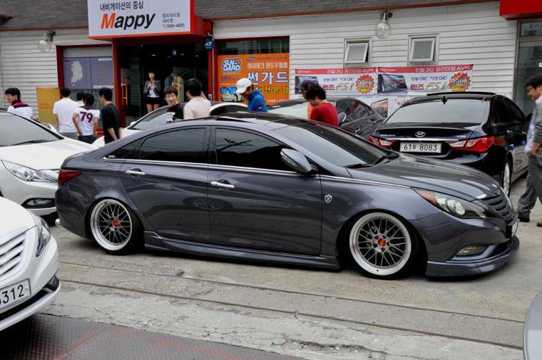 Slammed Hyundai Sonata True Driving