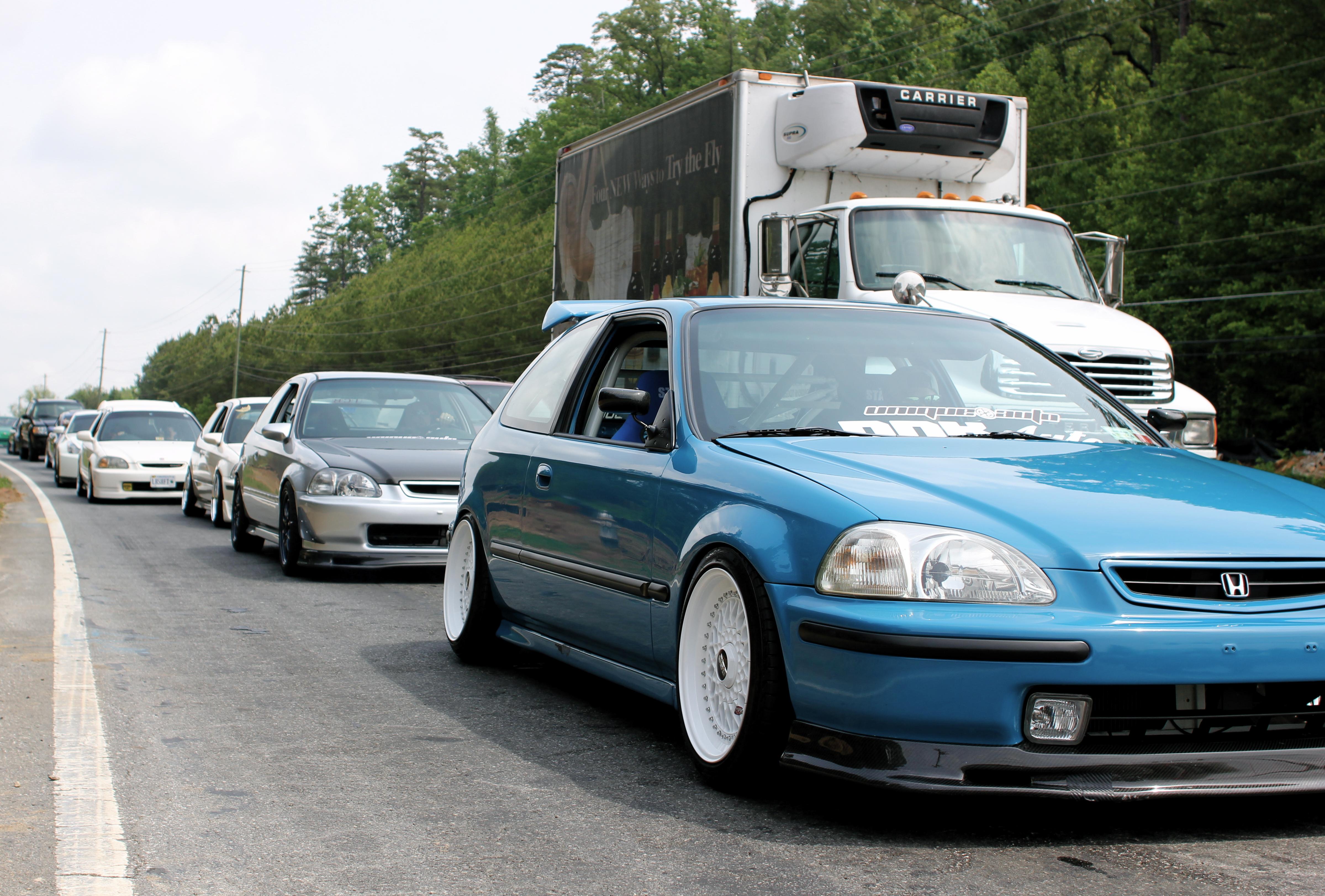 ef civic true driving